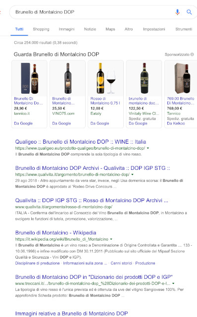 search brunello montalcino