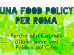 food policy roma 74x55
